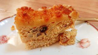 プレミアムチーズケーキの断面|成城石井