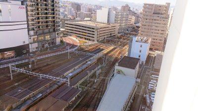 窓からは、八王子駅|築地魚力 セレオ八王子店