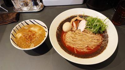 鶏白湯つけ麺|黄金拉麺 鶏のおかげ 八王子みなみ野