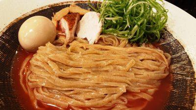 鶏白湯つけ麺(麺)|黄金拉麺 鶏のおかげ 八王子みなみ野