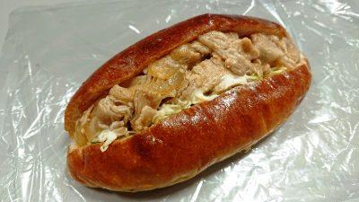 豚の生姜焼き|いなこっぺ(セレオのパンまつり)