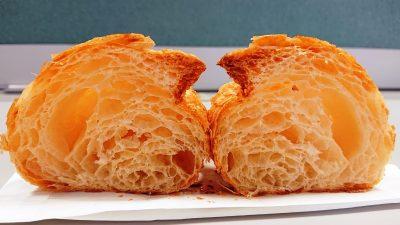 クロワッサン(断面)|La boulangerie Quignon(キィニョン)