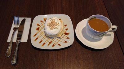 ハーフサイズクリームパンケーキ|高倉町珈琲 みなみ野店